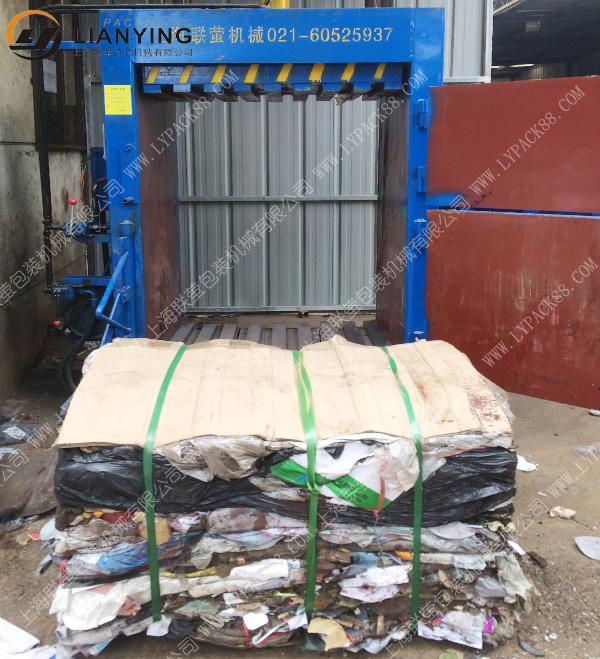 工业垃圾打包机 工厂垃圾液压打包机
