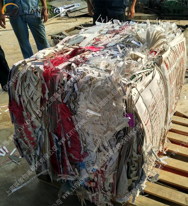 100吨废纸打包机 印刷厂废纸液压打包机