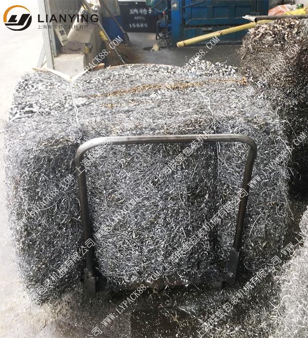 废铝丝液压打包机 铝边角料打包机