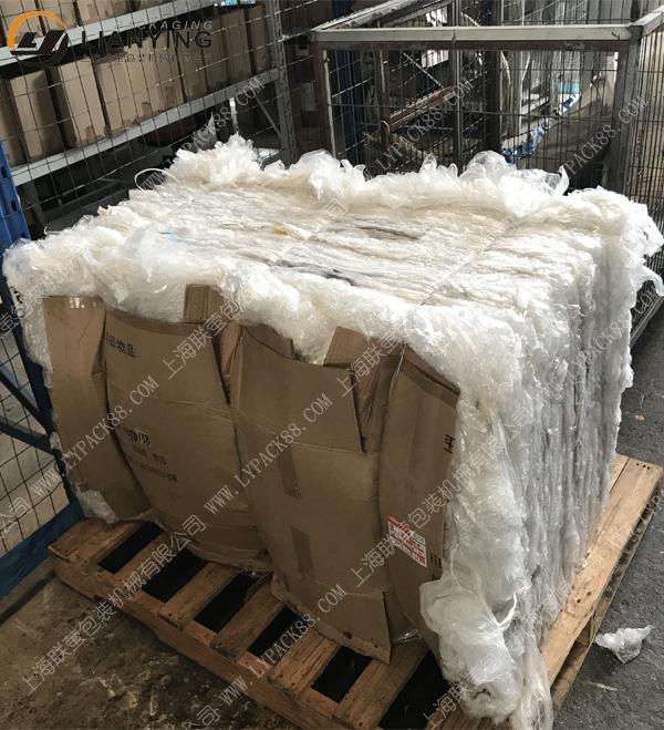 塑料膜打包机 pe膜压缩打包机