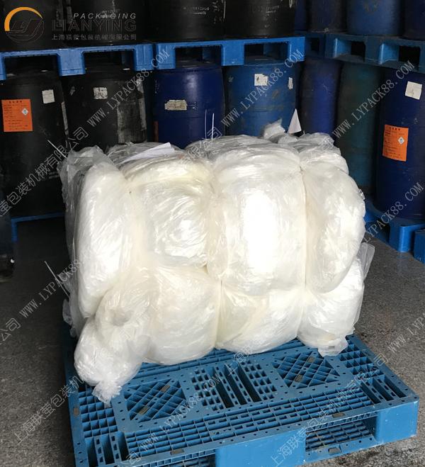 化工廠廢塑料袋液壓打包機