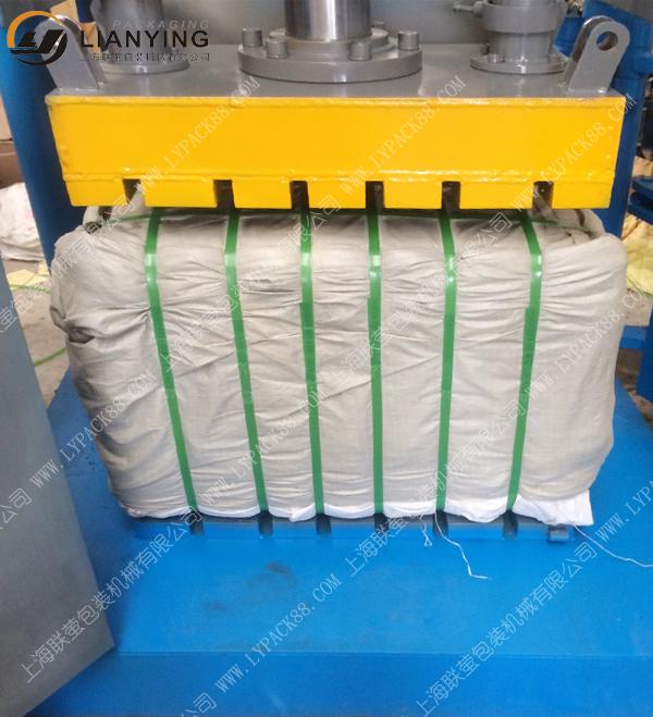 井字型液压打包机 服装液压打包机